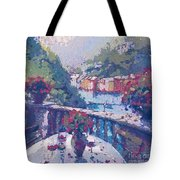 Table For Two In The Mix Tote Bag