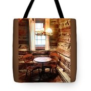 Table In The Corner Tote Bag