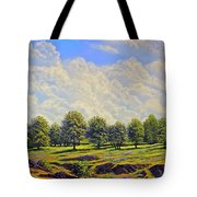 Table Mountain In Bloom Tote Bag