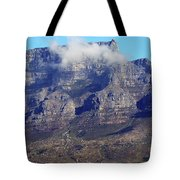 Table Mountain In The Clouds Tote Bag