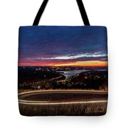 Table Rock Lake Night Shot Tote Bag
