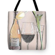 Table Setting For One Tote Bag