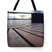 Table Texture Tote Bag