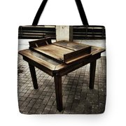 Table That Thought. This Beautiful Tote Bag