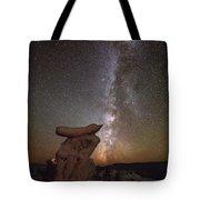 Table Top Milky Way Tote Bag