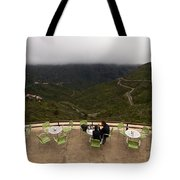 Table With A View  Tote Bag