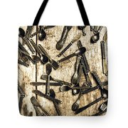 Tableware Abstract Tote Bag