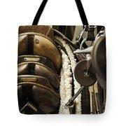 Tac Room Saddles Tote Bag by John Greim