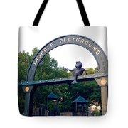 Tadpole Playground Boston Tote Bag