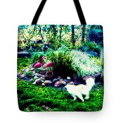 Tag You're It Tote Bag
