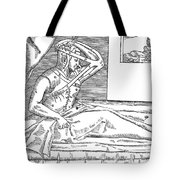 Tagliacozzi, Growing Nose From Arm Tote Bag