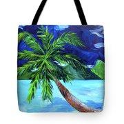 Tahiti Beach Tote Bag
