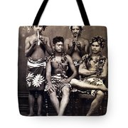 Tahiti: Men, C1890 Tote Bag