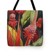 Tahiti Red Tote Bag