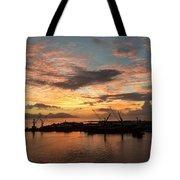 Tahiti Sunset Tote Bag