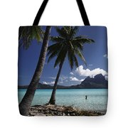 Tahiti View Tote Bag