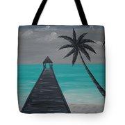 Tahitian Blue Tote Bag