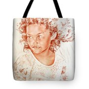 Tahitian Girl Tote Bag