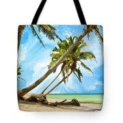 Tahitian Idyll Tote Bag