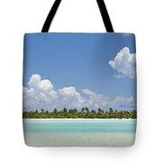Tahitian Lagoon Tote Bag