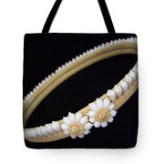 Tahitian Sea Shell Haku Tote Bag