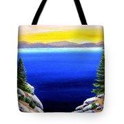 Tahoe Morning Tote Bag