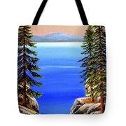 Tahoe Notch Tote Bag