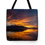Tahoe Sunset Luminosity Tote Bag