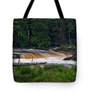 Tahquamenon Lower Falls Upper Peninsula Michigan 04 Tote Bag