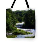 Tahquamenon Lower Falls Upper Peninsula Michigan 12 Tote Bag