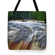 Tahquamenon Lower Falls Upper Peninsula Michigan Vertical 01 Tote Bag