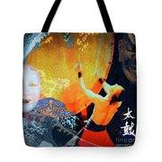 Taiko Drumming Tote Bag