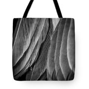 Tail Feathers Abstract Tote Bag