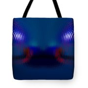 Tail Lights In The Rain Tote Bag