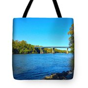 Tail Race Canal Tote Bag