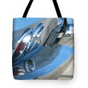 Taillight Reflections Tote Bag