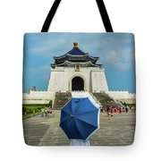 Taipei Lady Umbrella Tote Bag