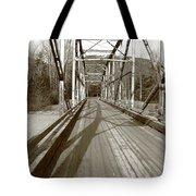Taiya River Bridge #1 Tote Bag