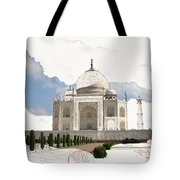 Taj Mahal Dreams Of India Tote Bag