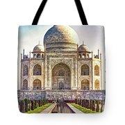Taj Mahal - Paint Tote Bag