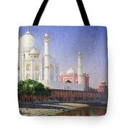 Taj Mahal Tote Bag by Vasili Vasilievich Vereshchagin