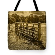 Take A Fence Tote Bag