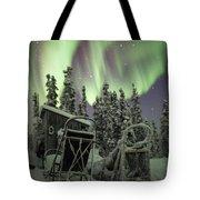 Take A Seat For The Aurora Custom 1x1 Tote Bag