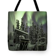 Take A Seat For The Aurora Tote Bag