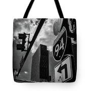Take A Turn, Chicago, Il Tote Bag