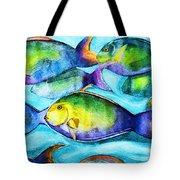 Take Care Of The Fish Tote Bag