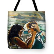 Take Me Into Your Loving Arms Tote Bag