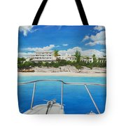 Take Me To La Samanna Tote Bag