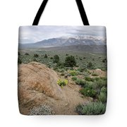 Take Me To The Mountains Tote Bag by Margaret Pitcher