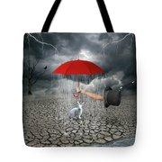 Take This.. It May Rain Tote Bag